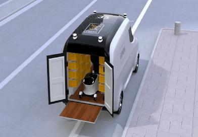 Hay un nuevo servicio de robot de entrega